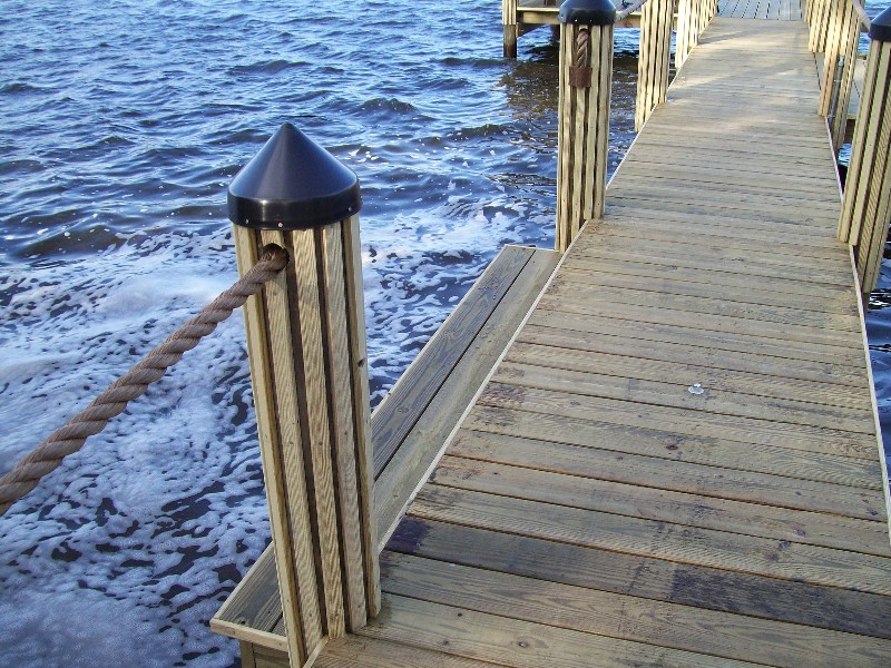 Dock Piling Decoration - Home Decorating Ideas